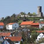 Die Burg Mellnau