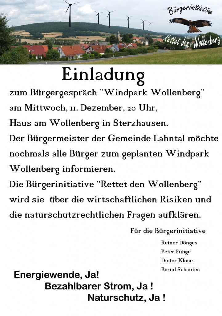 20131211-Bürgerinfo Sterzhausen